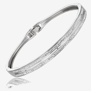 Fortuna Bangle Made With Swarovski<sup>&reg;</sup> Crystals