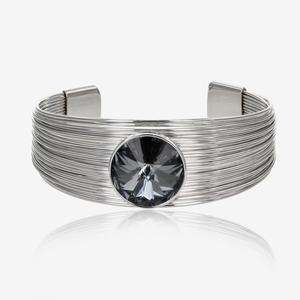 Cuff Bangle Made With Swarovski® Crystals