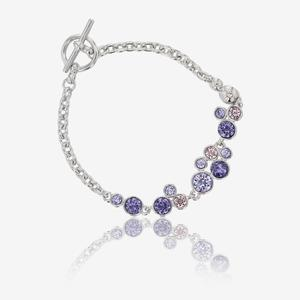 Stunning Stephania Bracelet Made With Swarovski® Crystals
