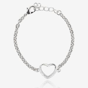 Petra Heart Bracelet Made With Swarovski<sup>®</sup> Crystals