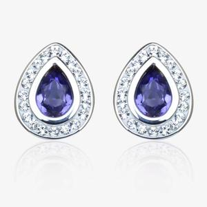 Violetta Earrings Made With Swarovski<sup>&reg;</sup> Crystals