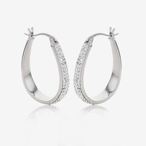 Fortuna Creole Earrings Made With Swarovski® Crystals