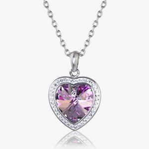 Sabrina Heart Necklace Made With Swarovski<sup>®</sup> Crystals