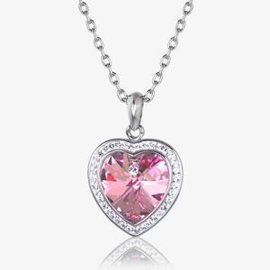 Sabrina Heart Necklace Made With Swarovski<sup>&reg;</sup> Crystals