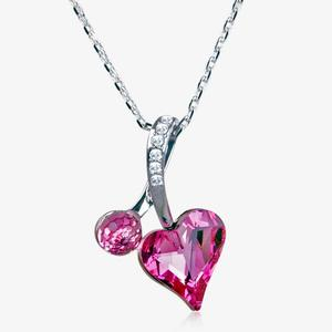 The Rosanna Heart Necklace Made With Swarovski<sup>&reg;</sup> Crystals