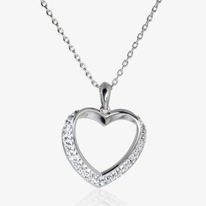 Petra Heart Necklace Made With Swarovski<sup>&reg;</sup> Crystals