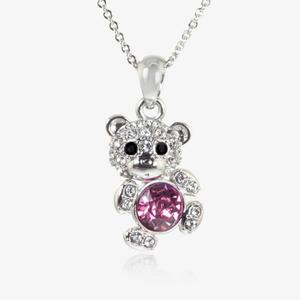 The Teddy Necklace Made With Swarovski<sup>&reg;</sup> Crystals