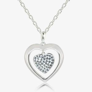 Lisa Heart Necklace Made With Swarovski<sup>&reg;</sup> Crystals