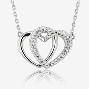 The Petra Heart Necklace Made With Swarovski<sup>&reg;</sup> Crystals