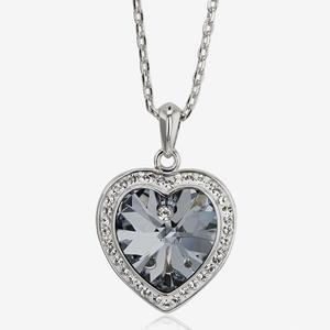 Sabrina Heart Necklace Made With Swarovski® Crystals