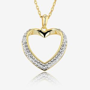 Petra Heart Necklace Made With Swarovski® Crystals