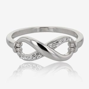 Infinity Ring Made With Swarovski® Crystals