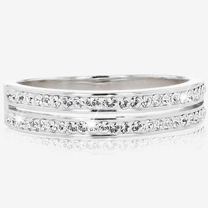 a1be4334d SALE Fortuna Band Ring Made With Swarovski<sup>®</sup> Crystals