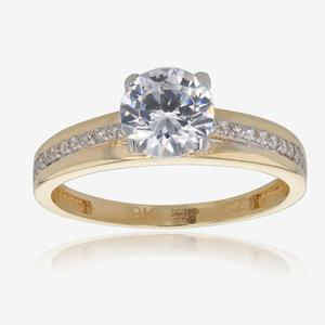 Amara 9ct Gold DiamonFlash® Solitaire Ring
