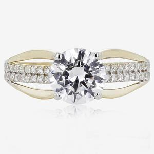 Priscilla 9ct Gold DiamonFlash® Solitaire Ring
