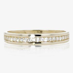 9ct Gold DiamonFlash<sup>&reg;</sup> Eternity Ring