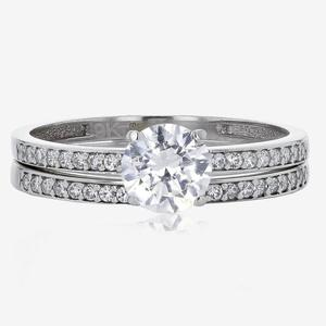 9ct White Gold DiamonFlash® Duet Set