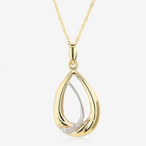 9ct Gold Elona Diamond Necklace