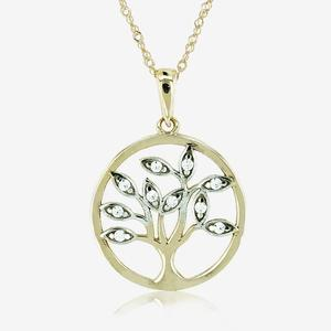 9ct Gold Life's Tree Necklace