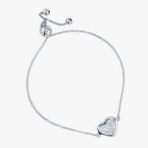 Tania Sterling Silver Friendship Bracelet Made With Swarovski® Crystals
