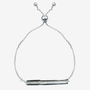Sterling Silver Bar Friendship Bracelet