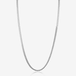 "Sterling Silver 18"" Curb Chain"