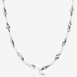 "Sterling Silver 18"" Princess Chain Necklace"
