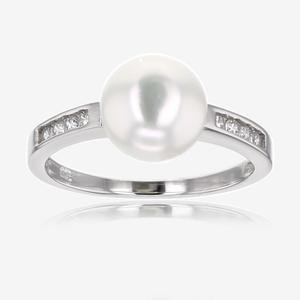 Samantha Sterling Silver Cultured Freshwater Pearl Ring