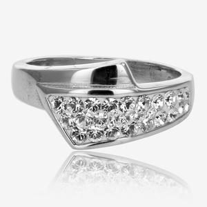 Sterling Silver Ring Made With Swarovski® Crystals