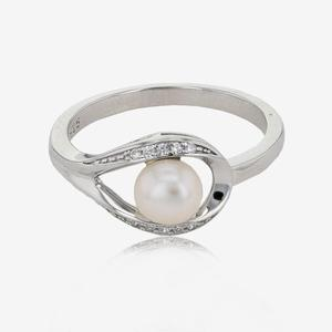 The Suzette Sterling Silver Cultured Freshwater Pearl Ring