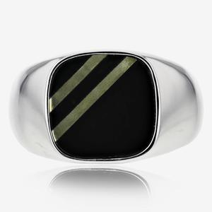 Men's Sterling Silver Heavyweight Signet Ring