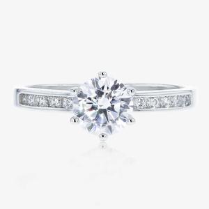 The Manhattan Sterling Silver Ring Warren James