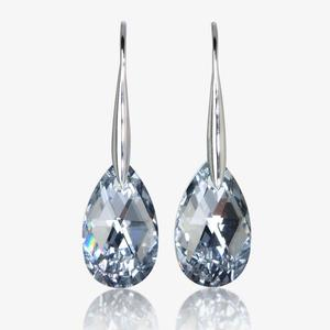 Godava Real Sterling Silver Earrings Made With Swarovski<sup>&reg;</sup> Crystals