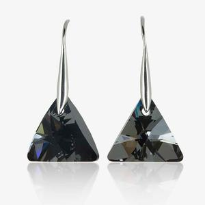 Tania Real Sterling Silver Earrings Made With Swarovski<sup>&reg;</sup> Crystals