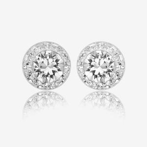 Montana Sterling Silver Earrings Made With Swarovski® Crystals