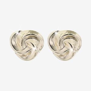 9ct Gold Sparkle Cut Stud Earrings