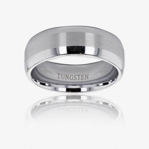 Men's Heavyweight Tungsten Band Ring