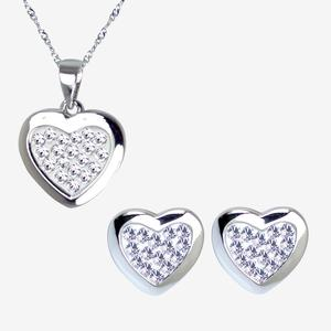 The Tania Sterling Silver Collection Made With Swarovski<sup>®</sup> Crystals
