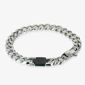 Men's Steel Black Bracelet